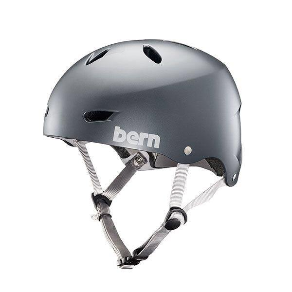 Bern Team Brighton Helmet - Satin Metallic Storm