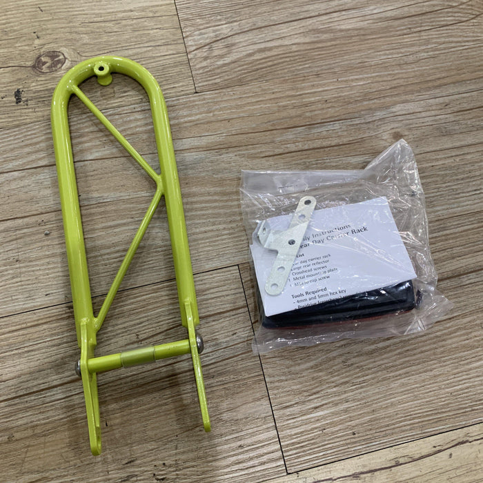Moulton Rear Day Bag Carrier (TSR & SST) - Citrus Green