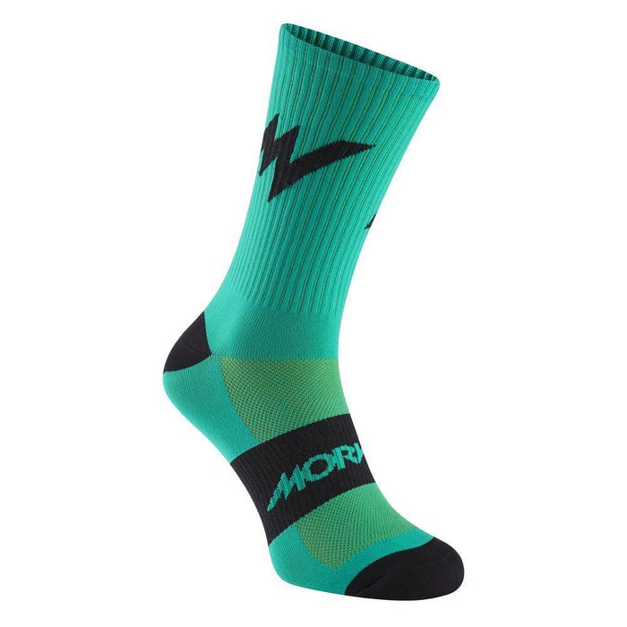 Morvelo Series Emblem Kelly Socks