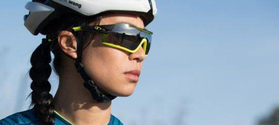 Tifosi Davos Race Neon Sunglasses - Smoke, AC Red & Clear Lenses