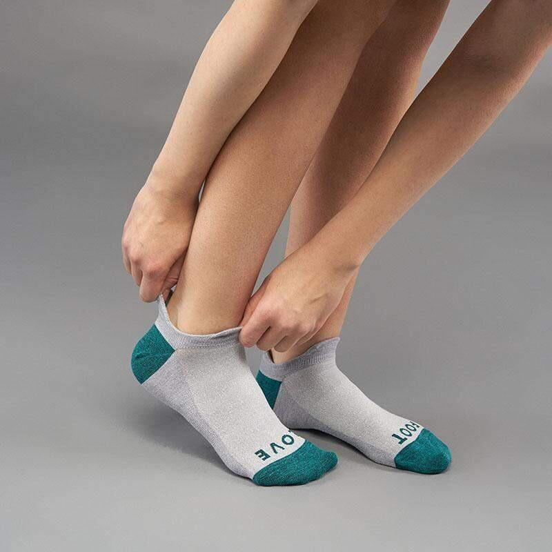GripGrab Woman Classic No Show Sock - Grey