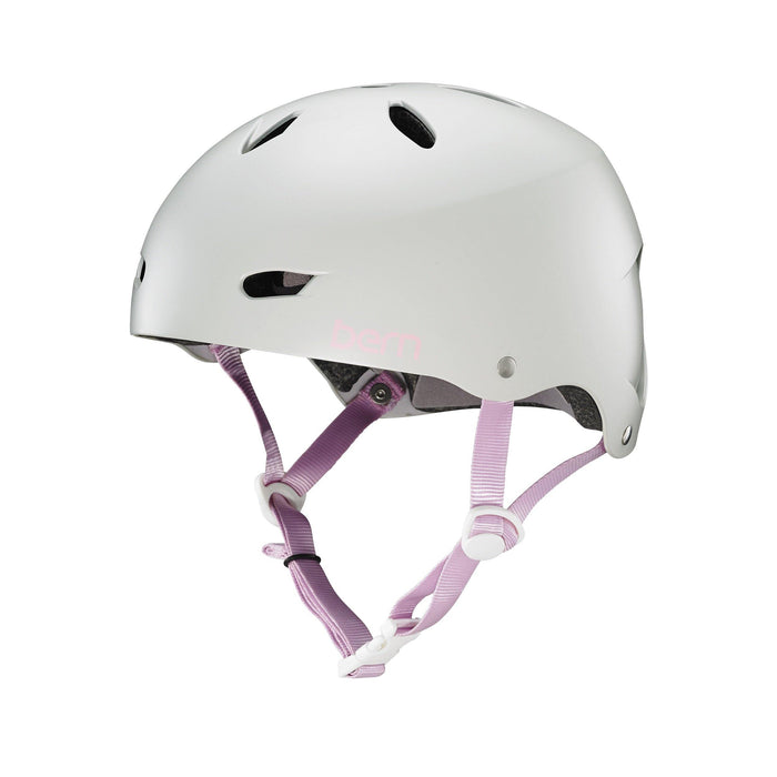 Bern Team Brighton Helmet - Satin Light Grey