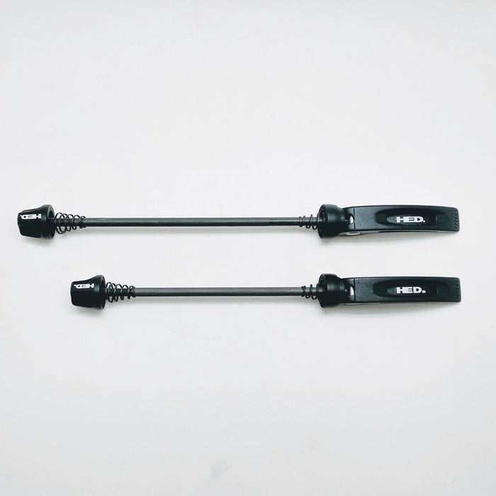 HED Matte Black Steel Road Skewer