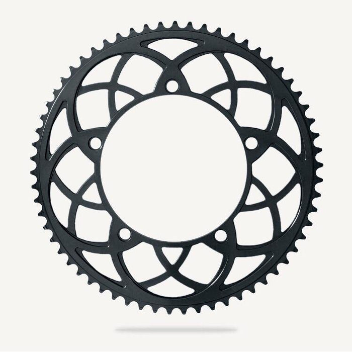 Bespoke Rose Window BCD130 Chainring - Black