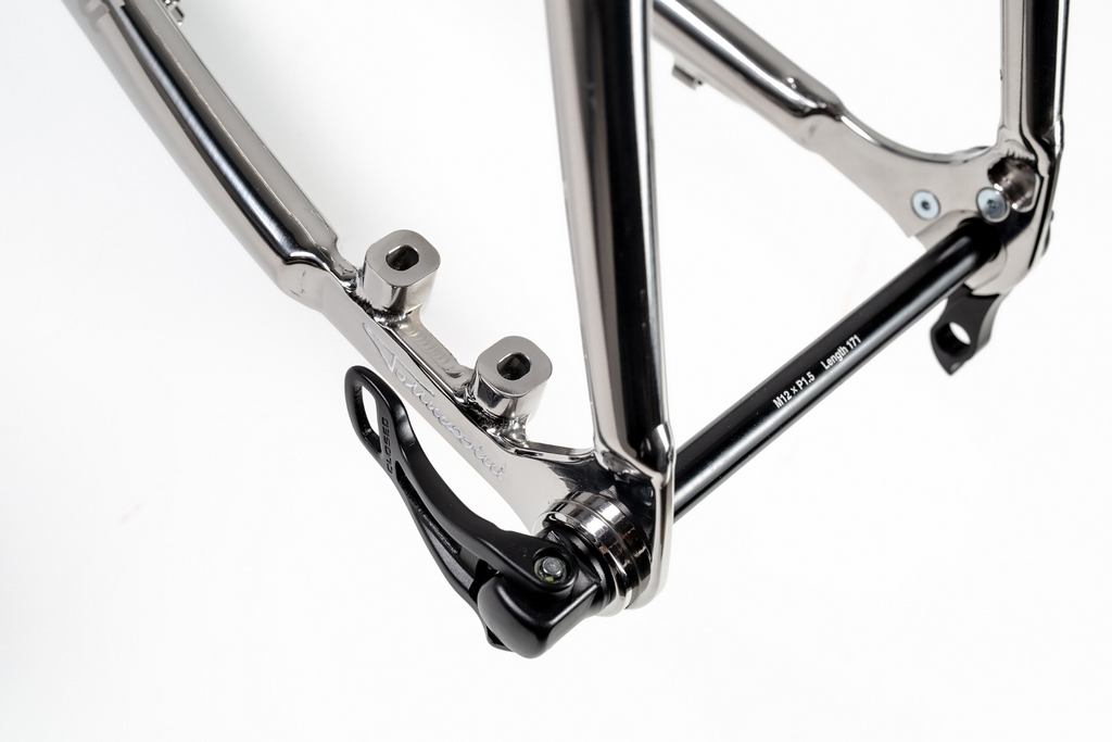 Tommasini X-Fire Disc Stainless Steel Frameset