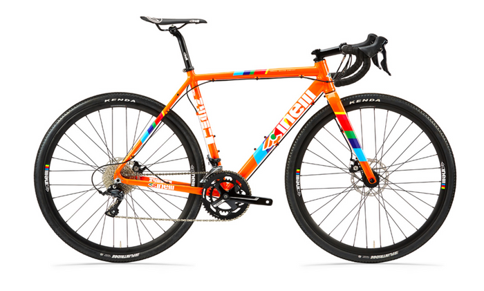 Cinelli Zydeco Lala Gravel Bike - Orange