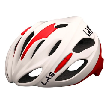 LAS Cobalto Helmet - White/Red - SpinWarriors