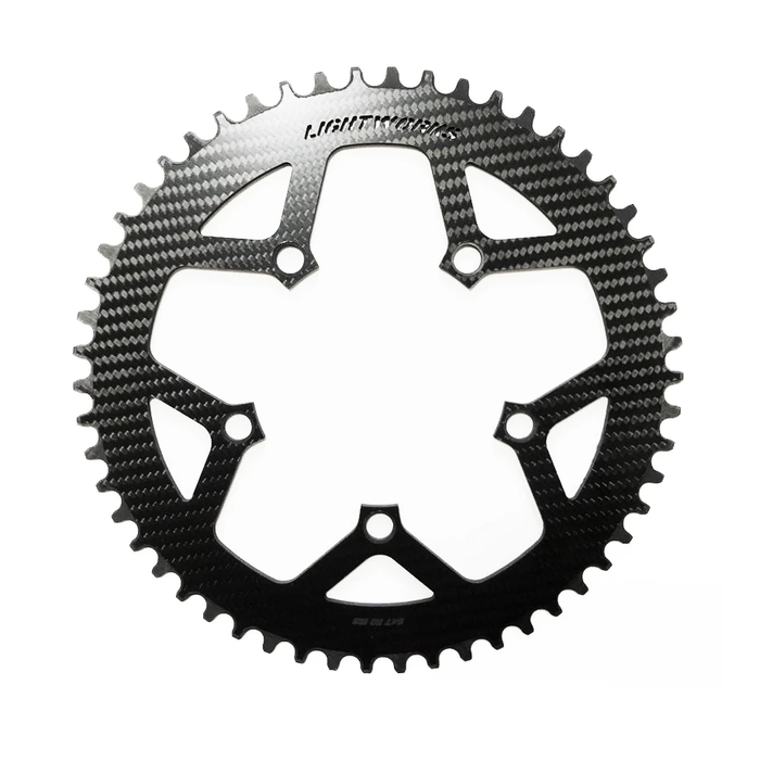 Lightworks Ultralight Carbon Chainring 130BCD (5-Arm)