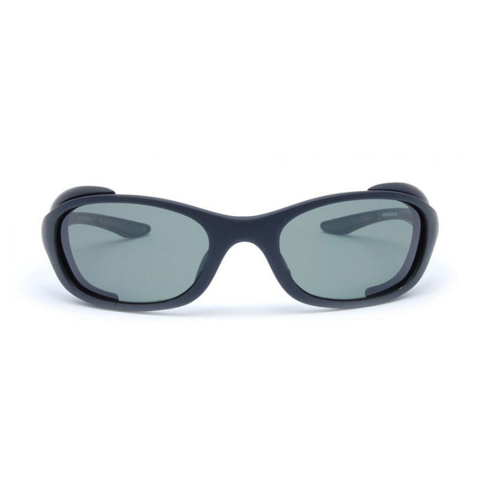 Bertoni P123A Rubber Black - Polarized Grey Green