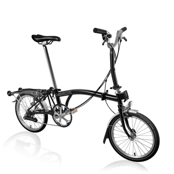 Brompton M6R - Black/Black - SpinWarriors