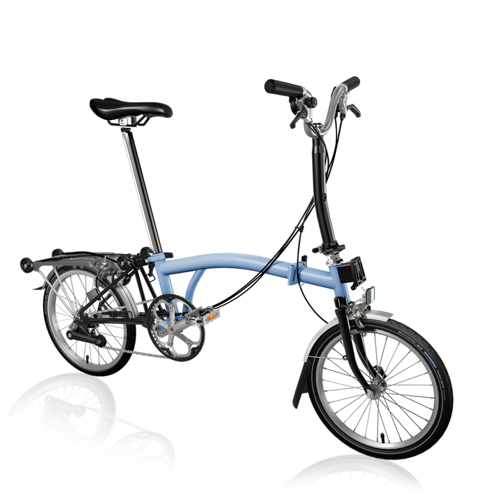 Brompton M6R - Cloud Blue/Black