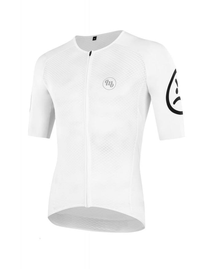 MB Wear Ultralight Smile Jersey - White