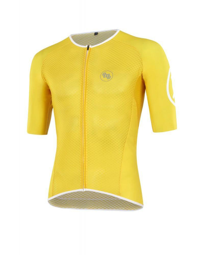 MB Wear Ultralight Smile Jersey - Yellow