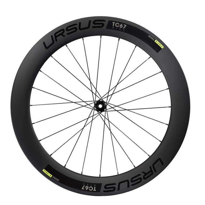 Ursus Miura TC67 Disc Carbon Tubeless Road Wheelset
