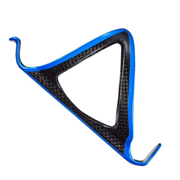 Supacaz Fly Cage Carbon - Neon Blue