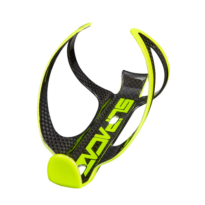 Supacaz Fly Cage Carbon - Neon Yellow