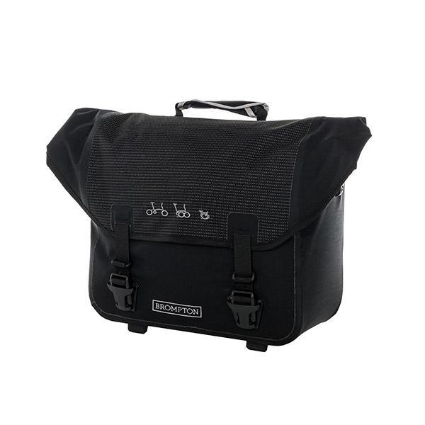 Ortlieb Brompton O Bag - Reflective Black