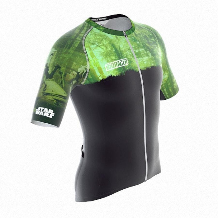 Bioracer Star Wars Planet Jersey - Green Forests of Endor