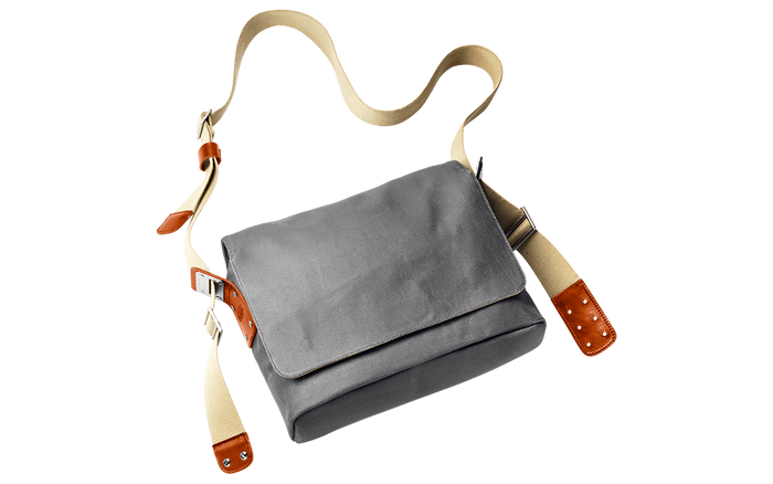 Brooks Paddington Shoulder Bag - Grey