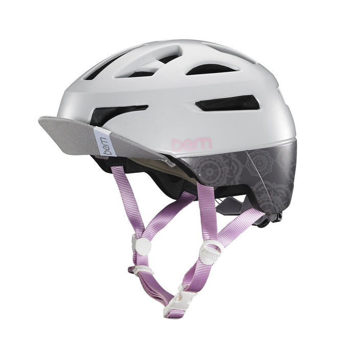 Bern Parker Helmet - Satin Light Grey