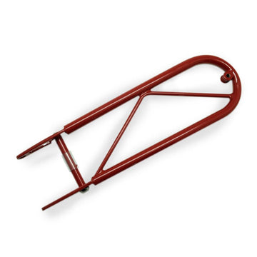 Moulton Rear Day Bag Carrier (for XTB, SST or TSR) - Britannia Red - SpinWarriors