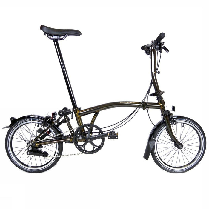 Brompton S6L 2018 Black Edition - Raw Lacquer
