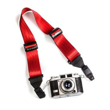 Restrap Shoot Camera Strap - Red - SpinWarriors