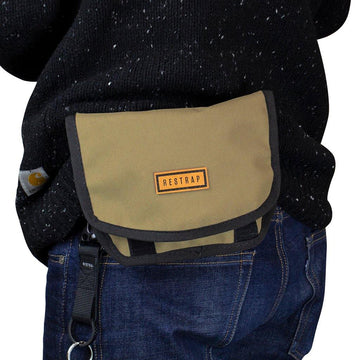 Restrap Hip Pouch - Khaki - SpinWarriors