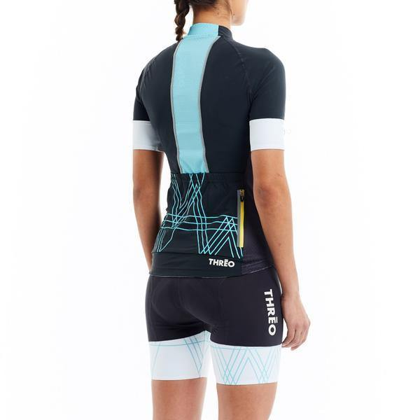 Threo Woman Cycling Jersey - Richmond Park