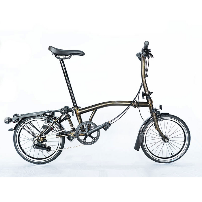 Brompton S6R 2018 Black Edition - Raw Lacquer