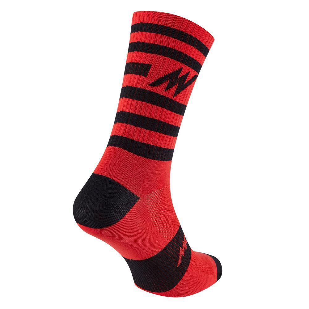 Morvelo Series Stripe Red Socks