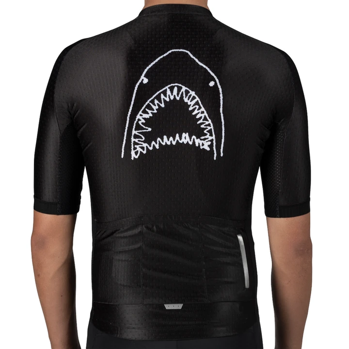 Pedal Mafia Great White Jersey - Black