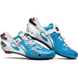 Sidi Wire Air Carbon Road Shoes - Sky Blue/White