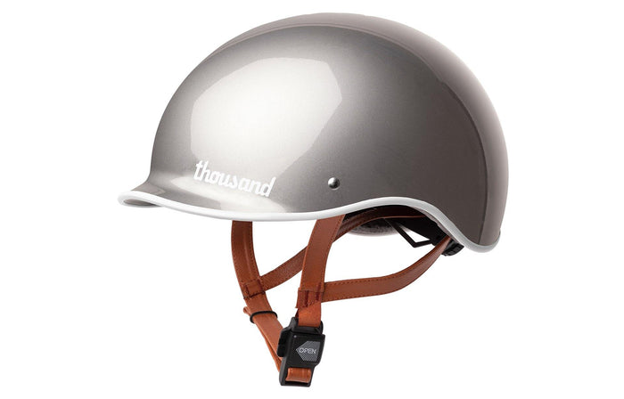 Thousand Metallics Collection Helmet - Polished Titanium