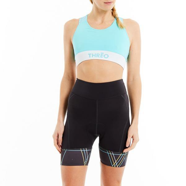 Threo Holland Park Crop Top - Aqua