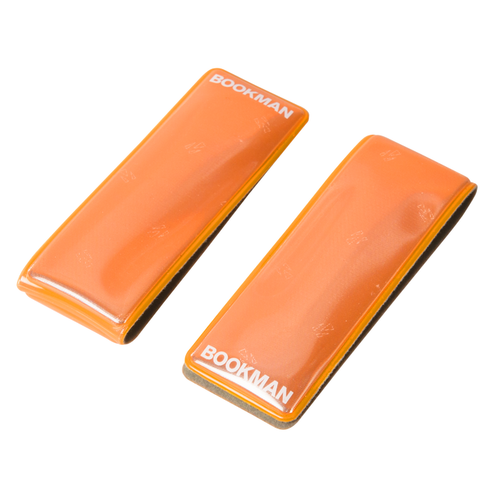Bookman Clip-on Reflector - Orange