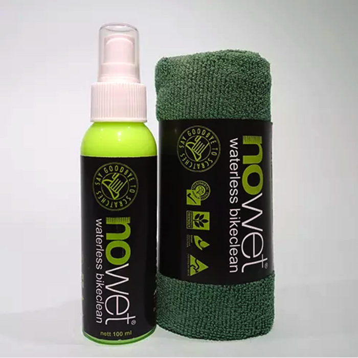 No Wet Waterless Bike Cleaner
