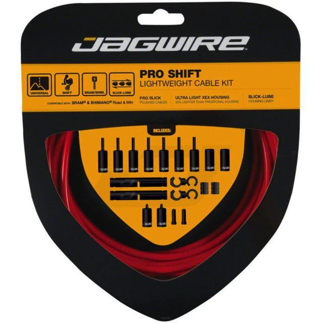 Jagwire Pro Shift Lightweight Cable Kit - Red