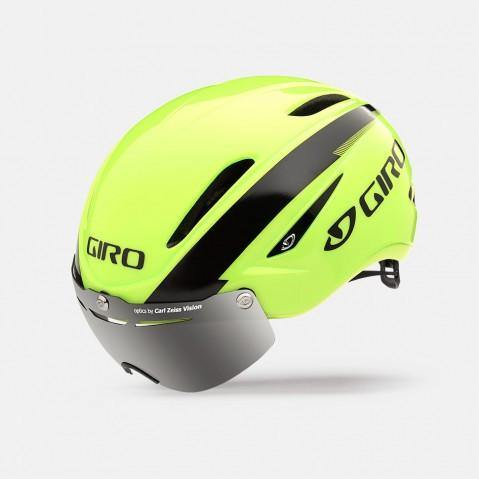 Giro Air Attack Shield Helmet- Highlight Yellow/Black