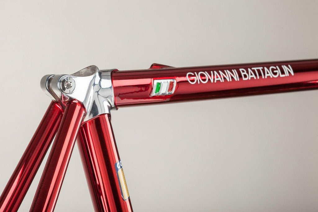 Battaglin 65 Classic Special Edition Red Cromovelato Steel Frameset