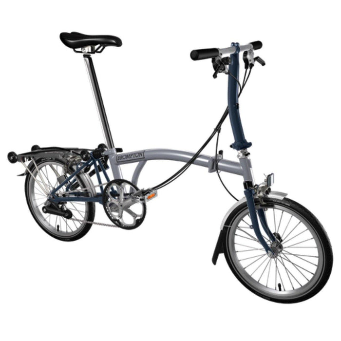 Brompton S6R 2017 - Grey/Tempest Blue