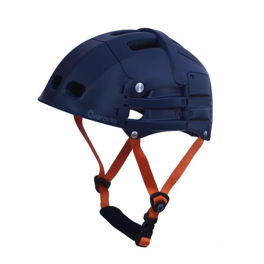 Overade Plixi Fit Foldable Helmet - Blue