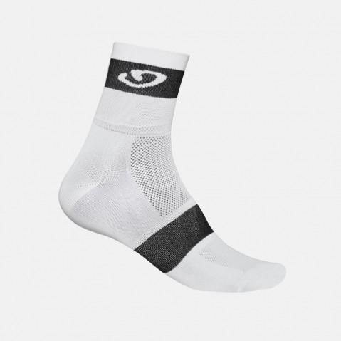 Giro Comp Racer Socks - White/Black