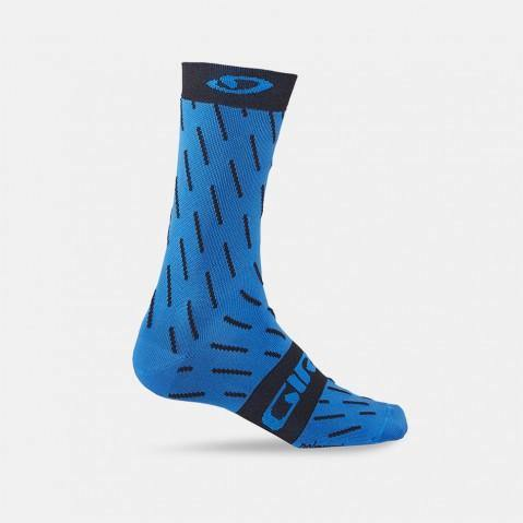 Giro Comp Racer High Rise Socks -Blue Jewel/Echelon