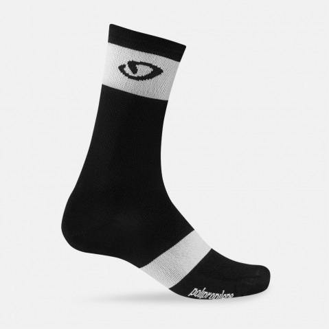 Giro Comp Racer High Rise Socks -Black/White