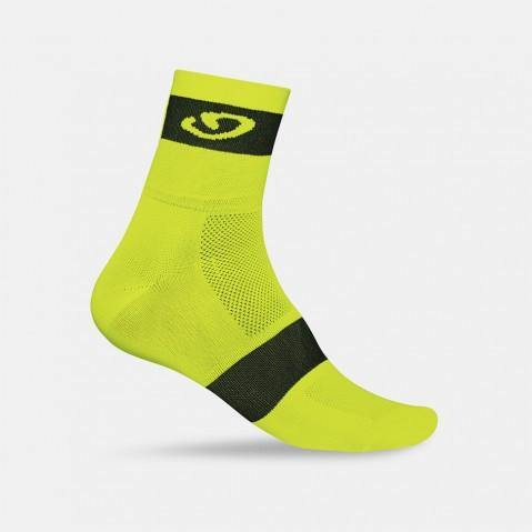 Giro Comp Racer Socks - Highlight Yellow/Black