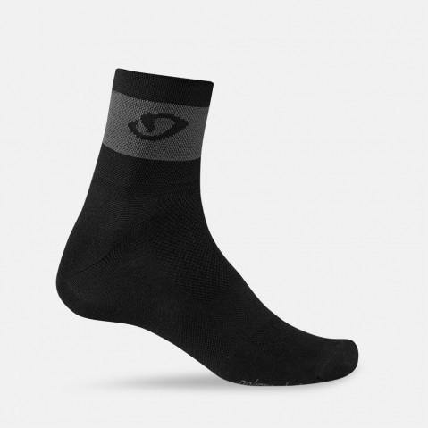 Giro Comp Racer Socks - Black/Dark Shadow