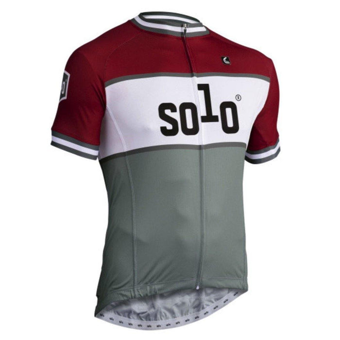 Solo CC Jersey - Red/Grey