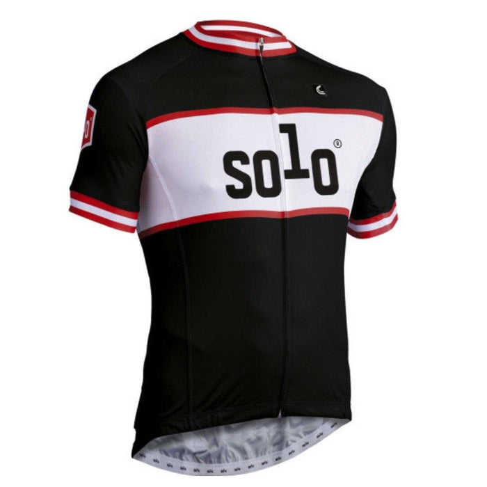 Solo CC Jersey - Black/Red