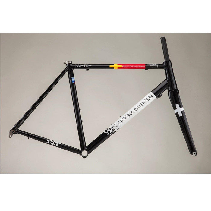 Battaglin Power+ Steel Frameset - Black